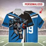 Gearhomies Personalized Unisex Hawaiian Shirt Carolina Panthers Football Team 3D Apparel