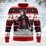 Merry Christmas Gearhomies Unisex Ugly Christmas Sweater You're All Breathtaking 3D Apparel