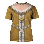 Gearhomies Unisex T-Shirt Anne Queen of Great Britain 3D Apparel