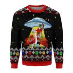 Gearhomies Unisex Sweatshirt Funny Alien UFO 3D Apparel