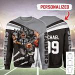 Gearhomies Personalized Unisex Sweatshirt Las Vegas Raiders Football Team 3D Apparel