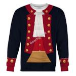 Gearhomies Unisex Sweatshirt John Paul Jones Revolutionary War 3D Apparel