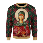 Gearhomies Unisex Sweatshirt St. Paraskeve 3D Apparel