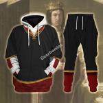 Gearhomies Tracksuit Hoodies Pullover Sweatshirt King Ferdinand II of Spain Historical 3D Apparel