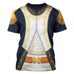 Gearhomies Unisex T-Shirt Joachim-Napoleon Mura 3D Apparel