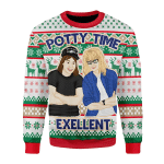 Merry Christmas Gearhomies Unisex Christmas Sweater Potty Time Exellent 3D Apparel