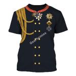 Gearhomies Unisex T-Shirt Ludwig Yorck Von Wartenburg 3D Apparel