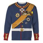 Gearhomies Unisex Sweatshirt General Paul Von Hindenburg (1847-1934) 3D Apparel
