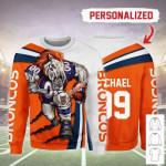 Gearhomies Personalized Unisex Sweatshirt Denver Broncos Football Team 3D Apparel