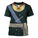 Gearhomies Unisex T-Shirt Emperor Pyotr I of Russia (1969 - 1725) 3D Apparel