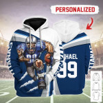 Gearhomies Personalized Unisex Tracksuit Hoodies Tennessee Titans Football Team 3D Apparel