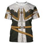 Gearhomies Unisex T-Shirt Charles I of England 3D Apparel