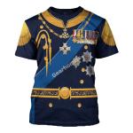 Gearhomies Unisex T-Shirt King George VI of United Kingdom 3D Apparel