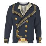 Gearhomies Unisex Sweatshirt Marquis de Lafayette 3D Apparel