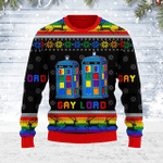 Merry Christmas Gearhomies Unisex Ugly Christmas Sweater Gay Lord 3D Apparel