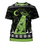 Gearhomies Unisex T-shirt UFO Holographic 3D Apparel