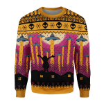 Gearhomies Unisex Sweatshirt Aliens Take Me Away UFO 3D Apparel
