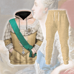 Gearhomies Tracksuit Hoodies Pullover Sweatshirt Ekaterina II of Russia Historical 3D Apparel