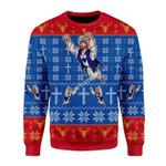 Merry Christmas Gearhomies Unisex Christmas Sweater Super Jesus Christmas
