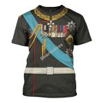Gearhomies Unisex T-Shirt Alexander III of Russia 3D Apparel