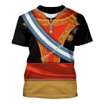 Gearhomies Unisex T-Shirt Ferdinand VII Of Spain 3D Apparel