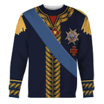 Gearhomies Unisex Sweatshirt Charles XIV John of Sweden Marshal General in Napoleic War 3D Apparel
