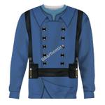 Gearhomies Unisex Sweatshirt World War I French Soldiers 3D Apparel