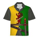Gearhomies Unisex Hawaiian Shirt Sir William Marshal Historical 3D Apparel
