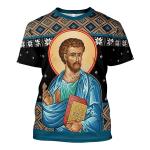 Gearhomies Unisex T-shirt St. Luke 3D Apparel