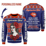 Gearhomies Personalized Name Tops September Girl Hated By Many Loved By Plenty 3D Apparel
