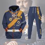 Gearhomies Tracksuit Hoodies Pullover Sweatshirt General Paul Von Hindenburg (1847-1934) Historical 3D Apparel