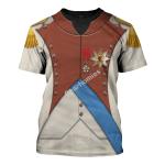 Gearhomies Unisex T-Shirt Louis Bonaparte 3D Apparel
