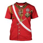 Gearhomies Unisex T-Shirt Arthur Wellesley 1st Duke of Wellington Napoleonic War 3D Apparel