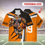 Gearhomies Personalized Unisex Hawaiian Shirt Cincinnati Bengals Football Team 3D Apparel