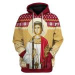 Gearhomies Unisex Tops Pullover Sweatshirt Saint Stefan 3D Apparel