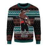 Merry Christmas Gearhomies Unisex Christmas Sweater I Love You Bitch 3D Apparel