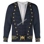 Gearhomies Unisex Sweatshirt Uniforms Of The U.S. Navy 1830-1841 3D Apparel