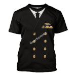 Gearhomies Unisex T-Shirt US Navy Fleet Admiral Chester W. Nimitz 3D Apparel