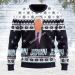 Merry Christmas Gearhomies Unisex Ugly Christmas Sweater Jeopady! 3D Apparel