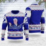 Merry Christmas Gearhomies Unisex Ugly Christmas Sweater And That's No Malarkey Joe Biden 3D Apparel