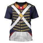 Gearhomies Unisex T-Shirt War of 1812 (1812-1815) US Army 3D Apparel