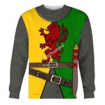 Gearhomies Unisex Sweatshirt Sir William Marshal 3D Apparel