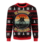 Merry Christmas Gearhomies Unisex Christmas Sweater Be Excellent To Each Other