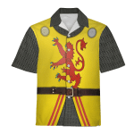 Gearhomies Unisex Hawaiian Shirt Robert The Bruce Historical 3D Apparel