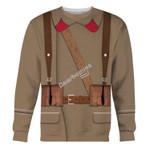 Gearhomies Unisex Sweatshirt Red Army in Winter War 39-40 3D Apparel