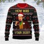 Merry Christmas Gearhomies Unisex Ugly Christmas Sweater How Was Your 2020 3D Apparel