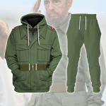 Gearhomies Unisex Tracksuit Hoodies Pullover Sweatshirt Fidel Castro Historical 3D Apparel