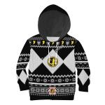Gearhomies 3D Kid Tops Pullover Sweatshirt Black Power Rangers
