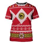GearhomiesT-Shirt  Red Power Rangers