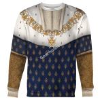 Gearhomies Unisex Sweatshirt Louis XIV of France 3D Apparel